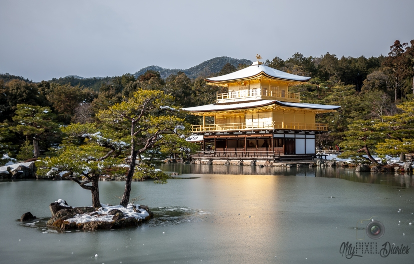 Kinkakuji During Winter