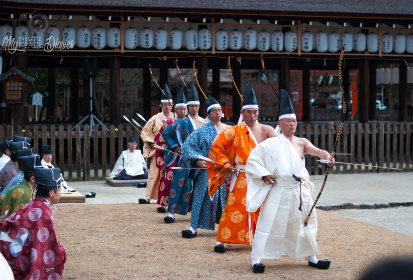 Military Archery Ritual in Kyoto